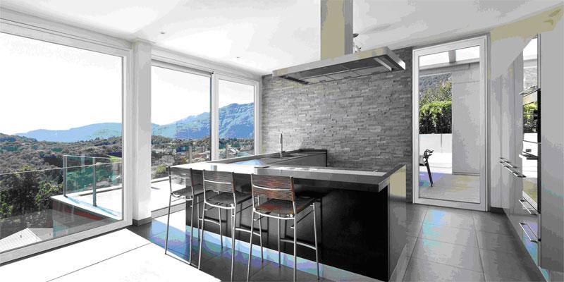 Finestre in legno alluminio sciuker vicentina serramenti - Finestre detrazione 65 ...